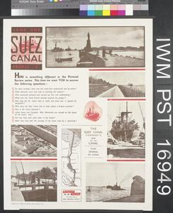 Land and People: Six - Suez Canal