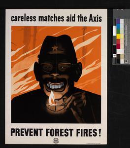 Prevent Forest Fires! Careless Matches Aid the Axis