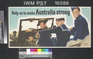 Help Us to Make Australia Strong