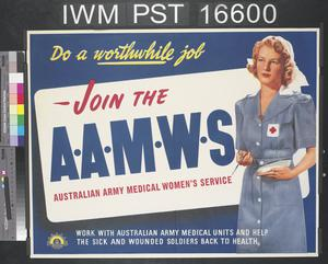 Join the Australian Army Medical Women's Service
