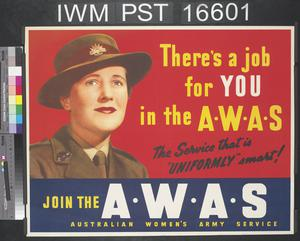 There's a Job for You in the AWAS