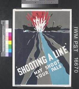 'Shooting a Line' May Shoot Your Pals