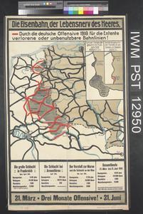 Die Eisenbahn, der Lebensnerv des Heeres [The Railway, the Living Nerve of the Army]