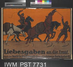 Liebesgaben an die Front [Alms to the Front]