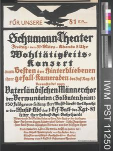 Für unsere 81er - Schumann Theater [For our Men of the 81st - Schumann Theatre]