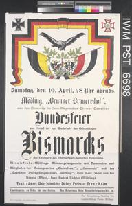 Bundesfeier - Bismarcks [Federal Bismarck Celebration]