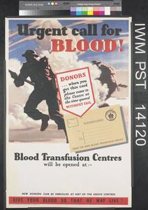 Urgent Call for Blood!