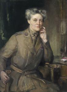 Mrs Chalmers Watson, CBE, Director of QMAAC