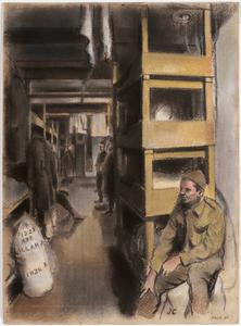 Sleeping Quarters, 1943