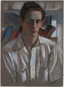 Portrait of a Young Man in a White Shirt, 1943
