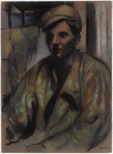 Portrait of a Man in a Combat Jacket, 1943