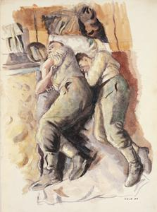Back from Manoeuvres, 1943