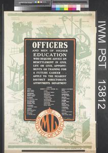 Officers and Men of Higher Education