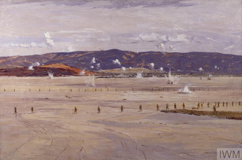 The Salt Lake, Suvla Bay: the advance of 21st August 1915