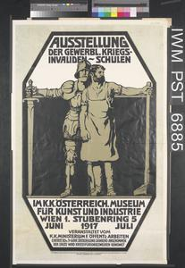 Ausstellung der Gewerblich Kriegsinvalidenschulen [Exhibition by Vocational Schools for the War-Disabled]