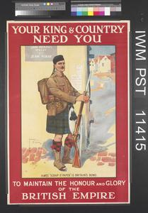 Your King and Country Need You - A Wee 'Scrap O' Paper' is Britain's Bond