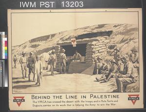 Behind the Line in Palestine