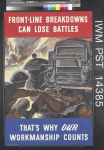 Front-Line Breakdowns Can Lose Battles