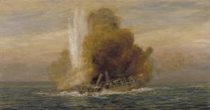 Loss of HMS Pathfinder, September 5th 1914