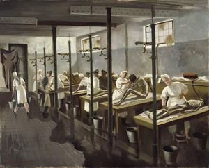 Human Laundry, Belsen: April 1945