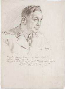 Major R Harvey, RAMC : 26th General Hospital, captured in Greece