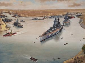Grand Harbour, Malta, October 1943