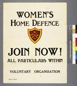Women's Home Defence - Join Now!