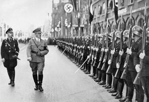 ADOLF HITLER AND HIS GERMAN MILITARY LEADERS, 1933-45.