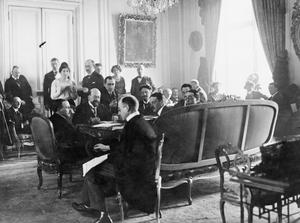 THE PARIS PEACE CONFERENCE, JANUARY-JUNE 1919