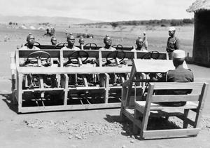 EAST AFRICANS BECOME MOTOR TRANSPORT DRIVERS, C. 13 DECEMBER 1943