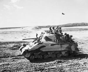 INDIAN ARMOURED CORPS IN MIDDLE EAST, C. 15 MARCH 1944