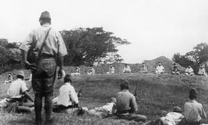 JAPANESE MURDER SIKH PRISONERS: CAPTURED ATROCITY PICTURES, C. 17 SEPTEMBER 1945