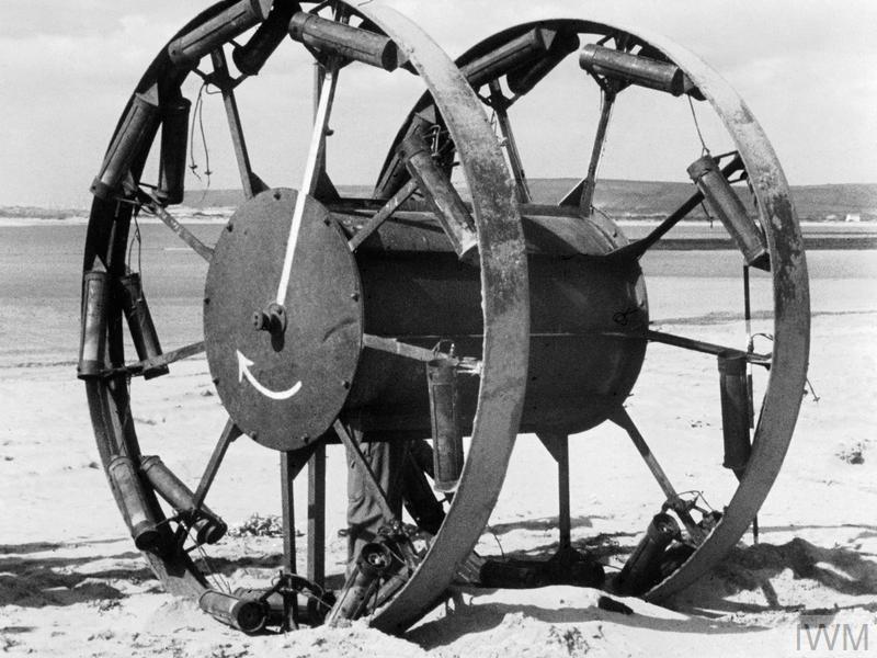 THE GREAT PANJANDRUM TRIALS, C 1944