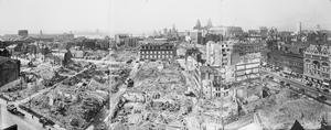 BOMB DAMAGE IN LIVERPOOL, ENGLAND, C 1942