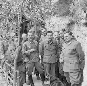 MARSHAL TITO DURING THE SECOND WORLD WAR IN YUGOSLAVIA, MAY 1944