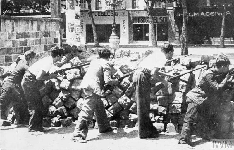 THE SPANISH CIVIL WAR, 1936–1939 term paper