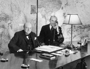 THE CABINET WAR ROOMS DURING THE SECOND WORLD WAR