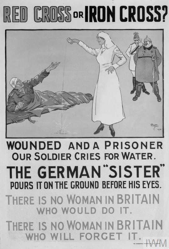 FIRST WORLD WAR PROPAGANDA POSTERS