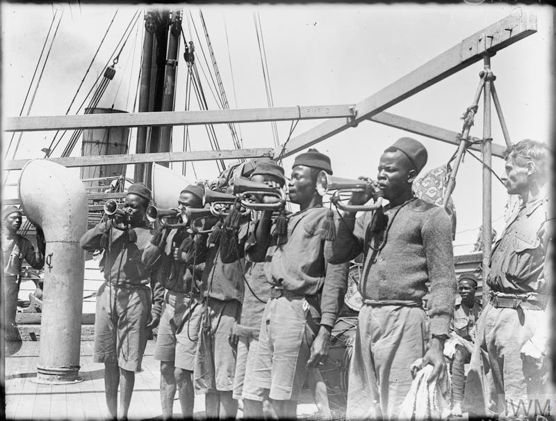 THE NIGERIA REGIMENT DURING THE FIRST WORLD WAR