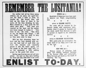FIRST WORLD WAR PROPAGANDA POSTERS