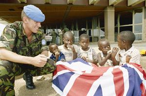 BRITISH FORCES IN RWANDA:  OPERATION GABRIEL, AUGUST - OCTOBER 1994