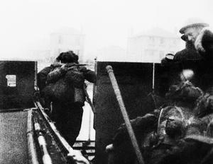 """THE NORMANDY LANDINGS: EXCERPTS FROM """"THE TRUE GLORY"""" (USA-GREAT BRITAIN, 1945)."""