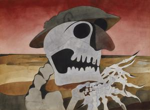 Skull in a Landscape