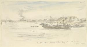 'Mauretania', Leaving Mudros for England, 7pm, July 23rd 1915