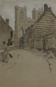 A Ruined Village Near Ypres