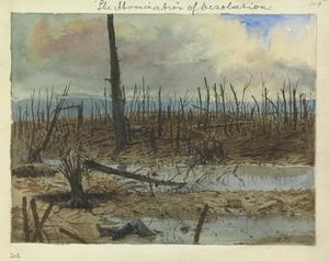 Mametz Wood : after the autumn advance, 1916. 'The abomination of desolation'.
