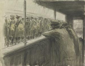 The Embarkation : Southampton