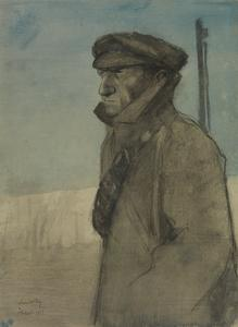 A Sentry : Samuel William Salmond, carman, of Peckham, on duty