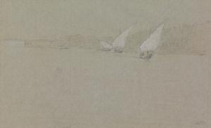 Bellams under sail near Kurna