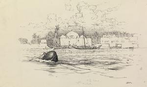 The Tigris in Flood. Baghdad